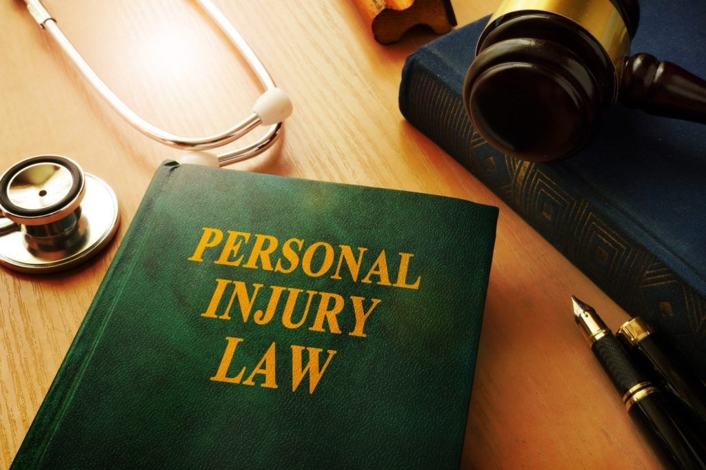 Personal injury law book.
